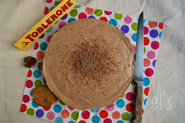 Cheesecake sans cuisson au toblerone