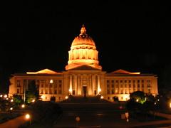 Missouri Capitol at Night