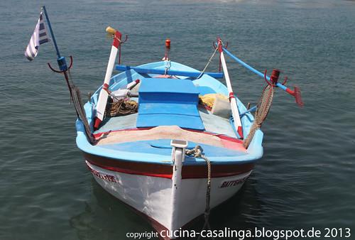 Hafen Boot Pythagorion