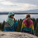 Small photo of Mai and Mariella at Inspiration Point