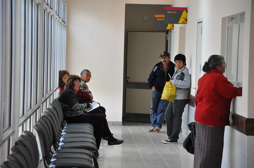 Atención en hospitales
