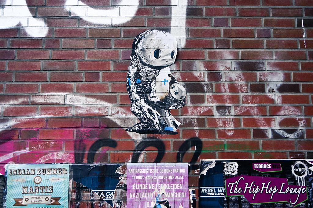 streetart sam crew hamburg