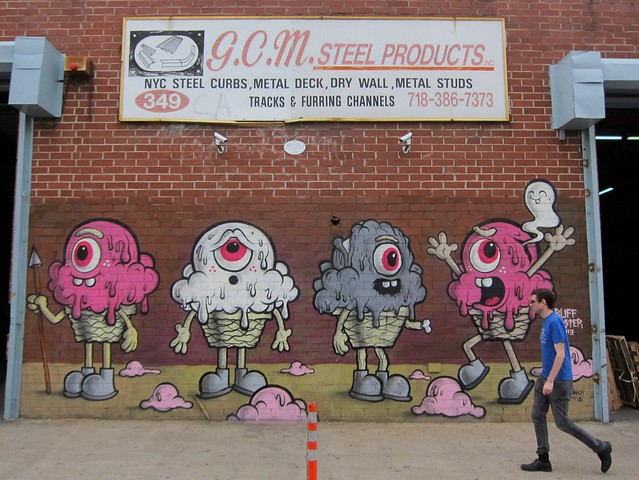 Buff Monster, Bushwick Collective
