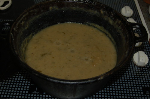 potato and lovage soup Aug 13