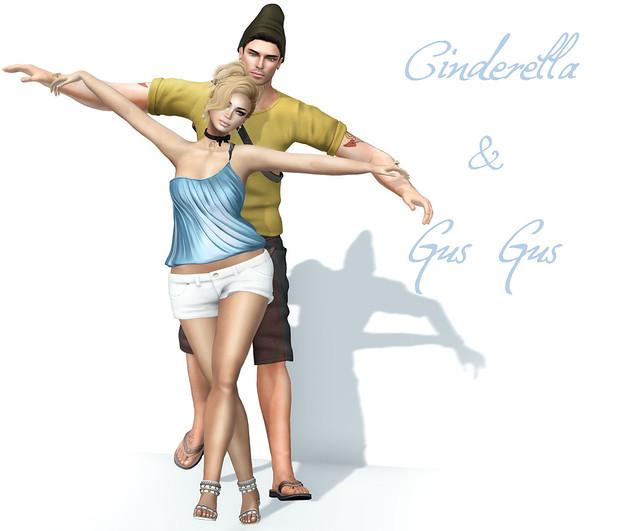 SL Disney Bound – Week 22 : Cinderella & Gus Gus