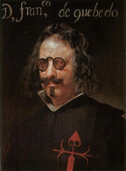 12. Retrato de Francisco de Quevedo. Obra atribuida a John Vanderham