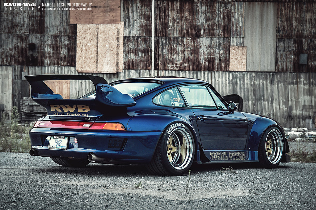 blue rauh welt begriff porsche 993 from vancouver. Black Bedroom Furniture Sets. Home Design Ideas