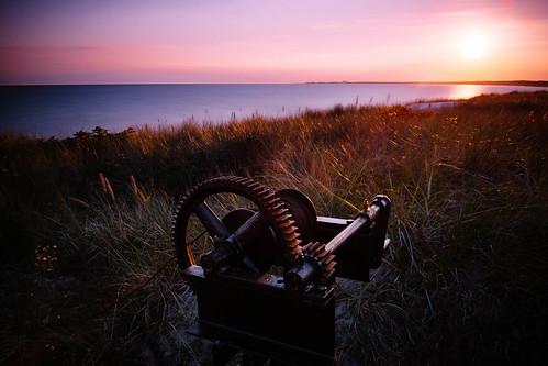ocean longexposure sunset beach grass landscape fotograf balticsea sverige polaroid690 skånelän xpro1 vsco martinmartinsson fujinonf18 filmpack03