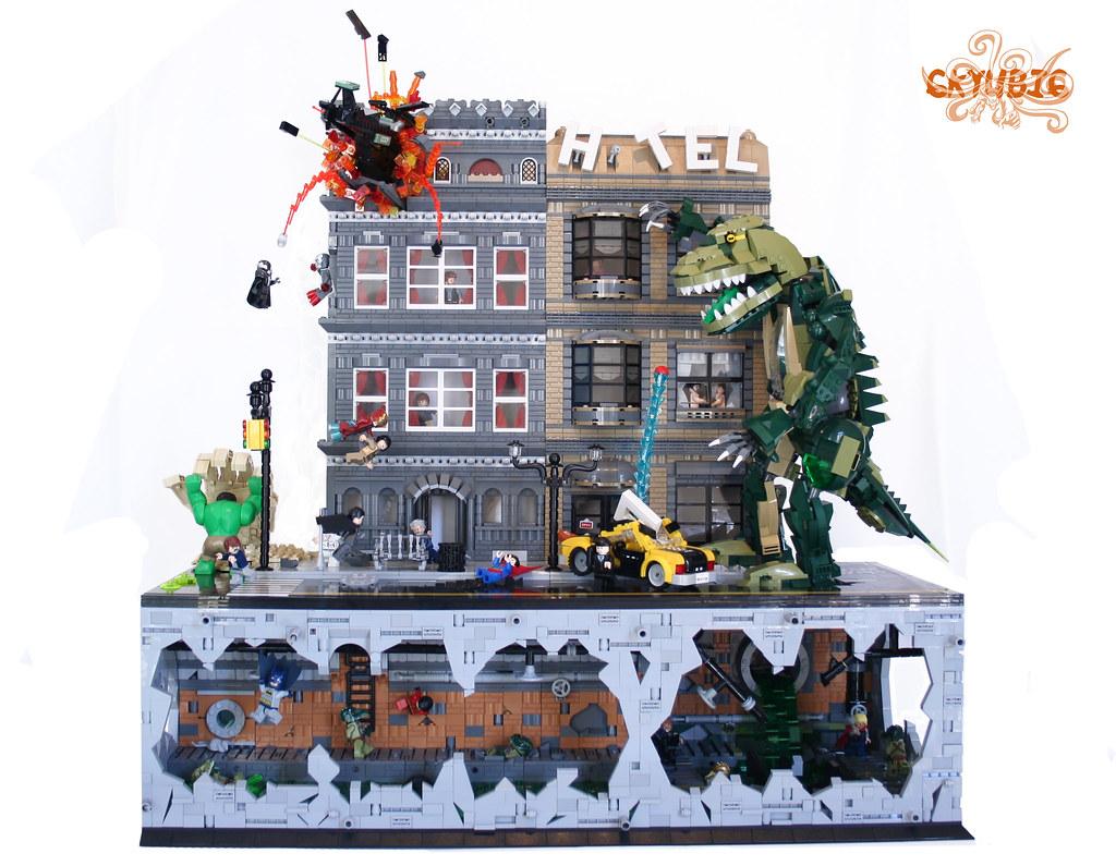 Super Heroes 3lug Project 6kyubi6 LEGO Licensed Eurobricks