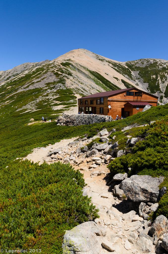20130812 薬師岳山荘