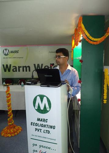 Shri Rajib Barua, National Business Head, Marc by EventArchitect