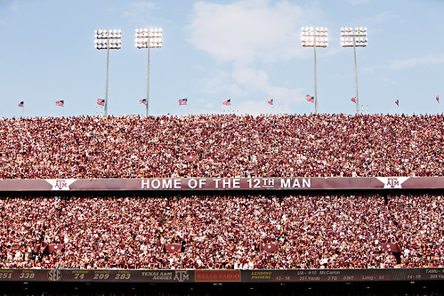 Home of the 12th Man - Alabama Game
