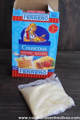 Couscous dulce con pasas y granada (3)