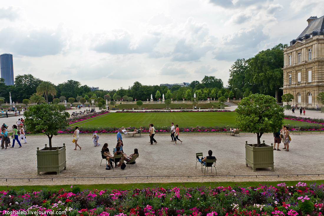 Люксембургские сады-11