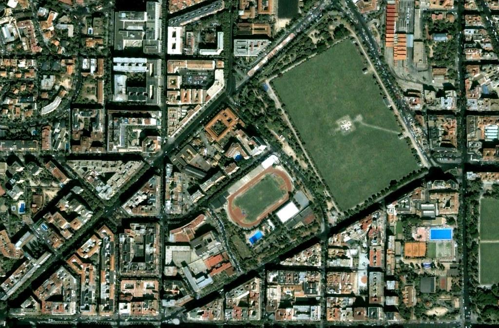 estadio de vallehermoso, parque da santander, madrid, el bolsas, el golf, el olimpismo, antes, urbanismo, planeamiento, urbano, desastre, urbanístico, construcción