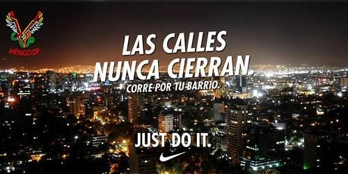 Corre por tu barrrio Nike plus