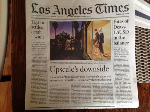 LA Times Abbot Kinney
