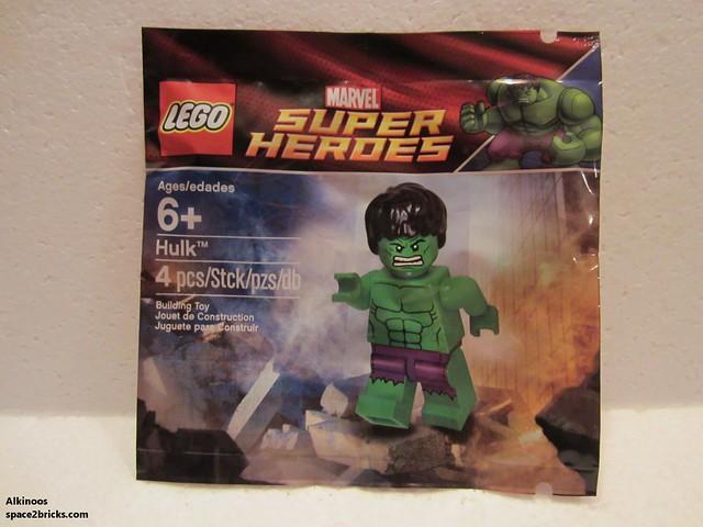 Lego polybag Hulk p1