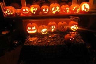Halloween pumpkins 2013