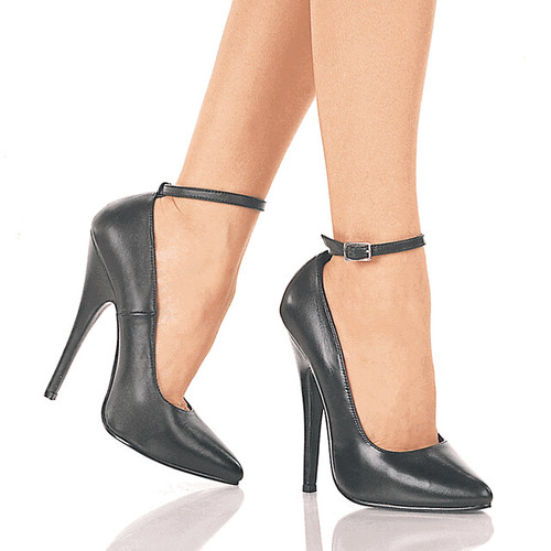 Fetish 5 1/2 inch High Heels with Ankle Straps