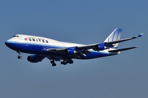 United Airlines Boeing 747-422 N117UA  MSN 28810