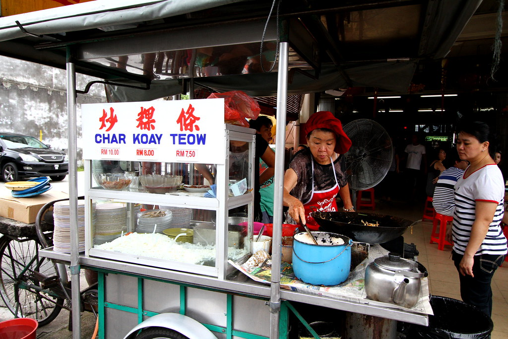 Penang Food Guide: Char Kway Teow @ Lorong Selamat Store Front