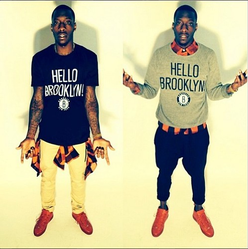 Tyshawn Taylor Hello Brooklyn Shirt and Crew Neck Sweatshirt
