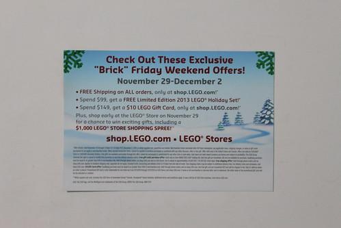 LEGO Brick Friday Promo