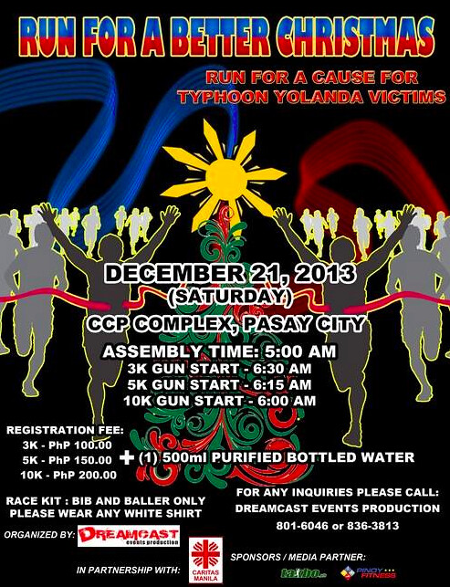 RUN FOR A BETTER CHRISTMAS