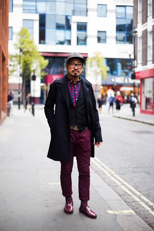 Street Style - Tom Tsang, Poland Street