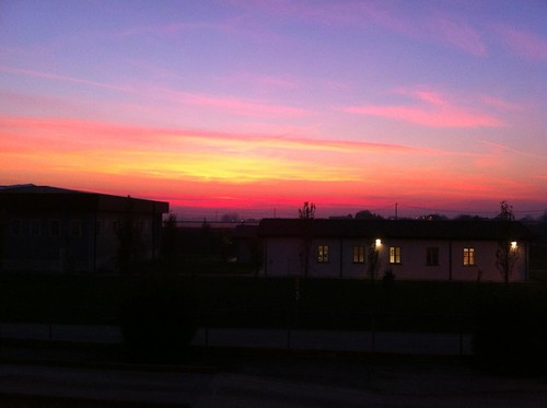 Rosso di sera bel tempo si spera by meteomike