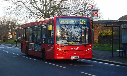 Abellio 8581 on Route 235, Brentford Ealing Road