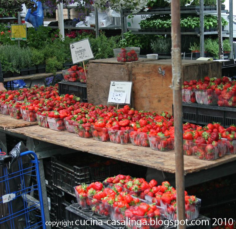 UnionSquare FarmersMarket Erdbeeren