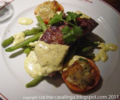 Ratskeller Steak mit Sauce