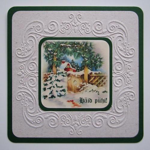 Lihtne jõulukaart