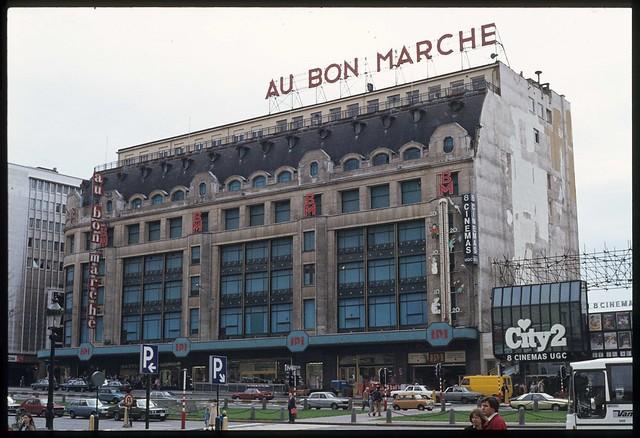 1981 03 au bon march boulevard du jardin botanique for Boulevard du jardin botanique 32