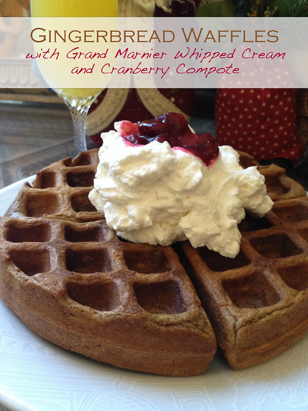 How Much Is A Mile >> Gingerbread Waffles with all the Fixin's
