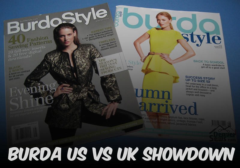 Burda US vs UK Showdown