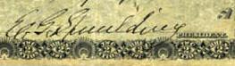 Eldridge G. Spaulding signature