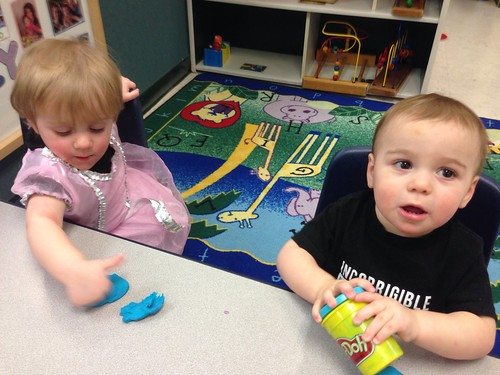 Martin and Elliott at Day Care