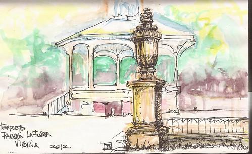 12-06-02 Vitoria Templete Parque la Florida by jeguibo