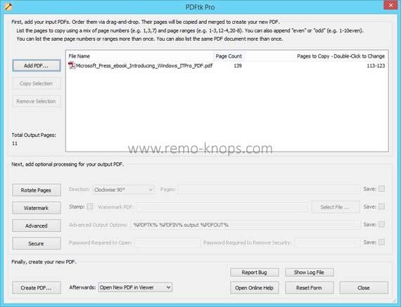 PDFtk Pro screenshot 26