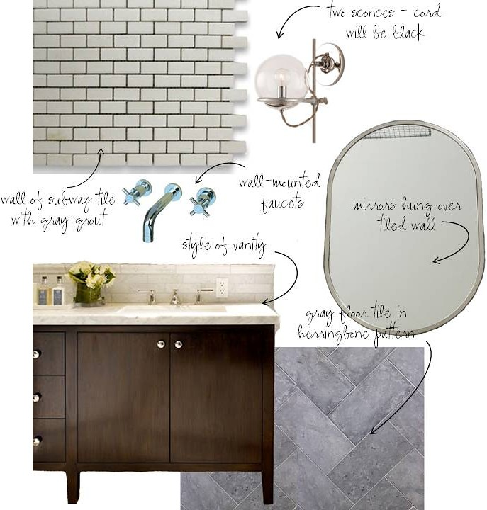 master bath design scheme options