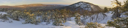 winter sky panorama usa snow ny sunrise gardiner pinetrees lostcity ulstercounty pitchpine neartrapps millbrookridge thetrapps dickiebarre