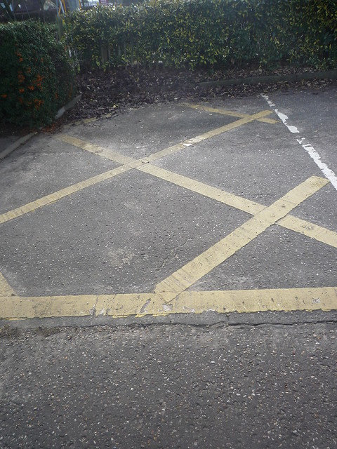 diagonals - no parking