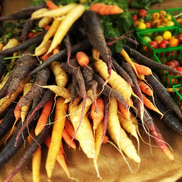 So lucky to have access to a wealth of fresh seasonal organic veggies. Love my farmers market! #365gratitude_hashimaree