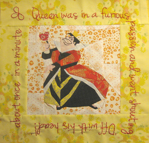 Quilt&Stitch TestAlong, Alice in Wonderland