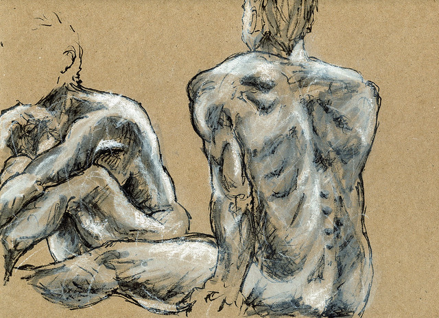 Life Drawing at Sandy Hill 2014 -4