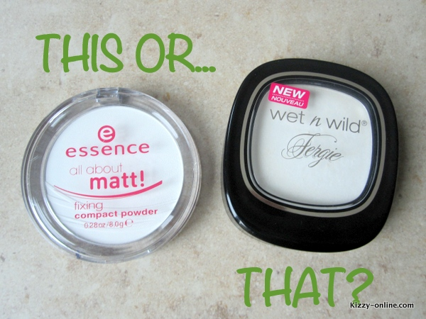 Wet N Wild Fergie Take On The Day Mattifying Powder Essence All About Matt Fixing Compact Powder