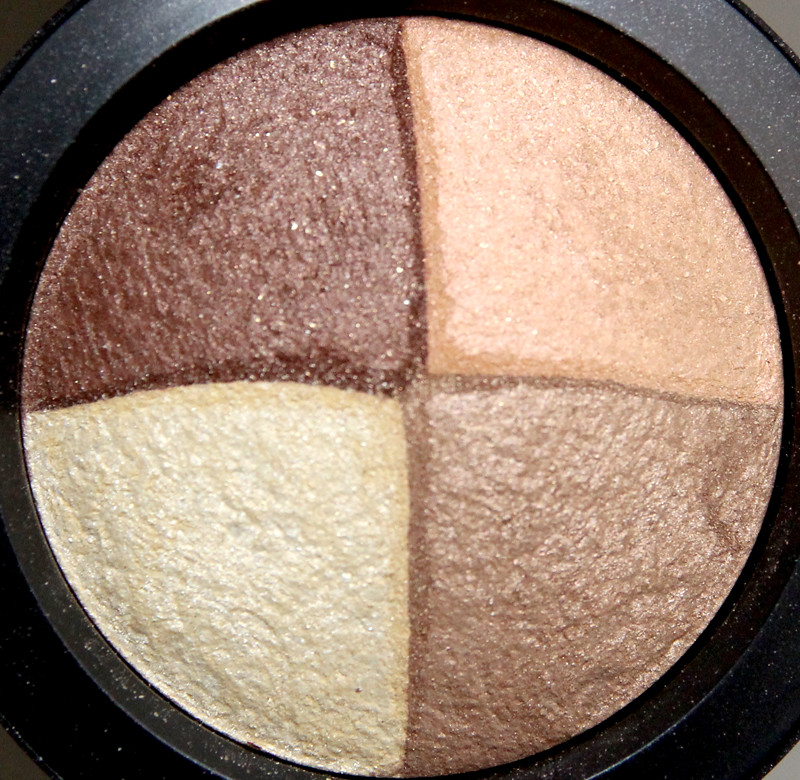 MAC Golden hours mineralize eyeshadow2